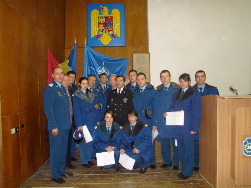 Sesiunea de comunicari stiintifice a elevilor militari