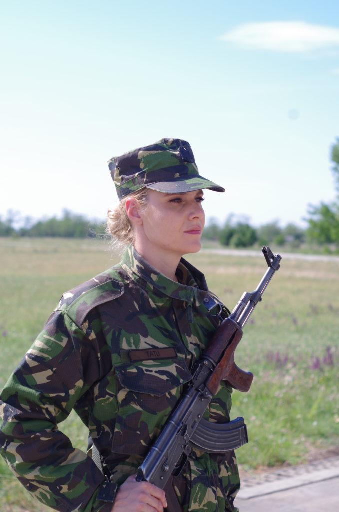 Ceremonie de depunere a jurământului militar